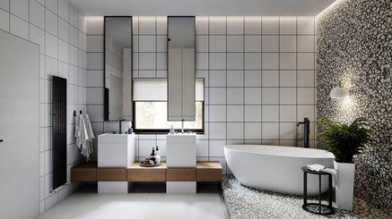 Łazienka dla dwojga - RB Architects