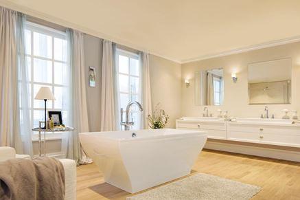 Aranżacja łazienki glamour Grohe Grandera