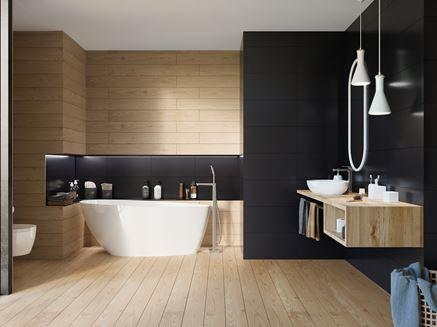 Aranżacja łazienki w kolekcji Paradyż Iceland