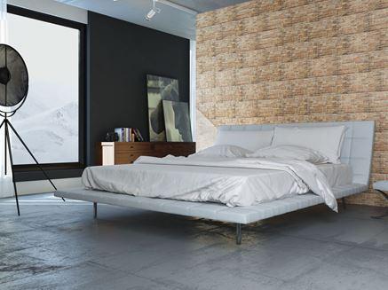Kamienna ściana w sypialni Cerrad Canella