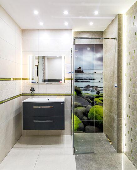 Aranżacja łazienki z nadmorskim akcentem
