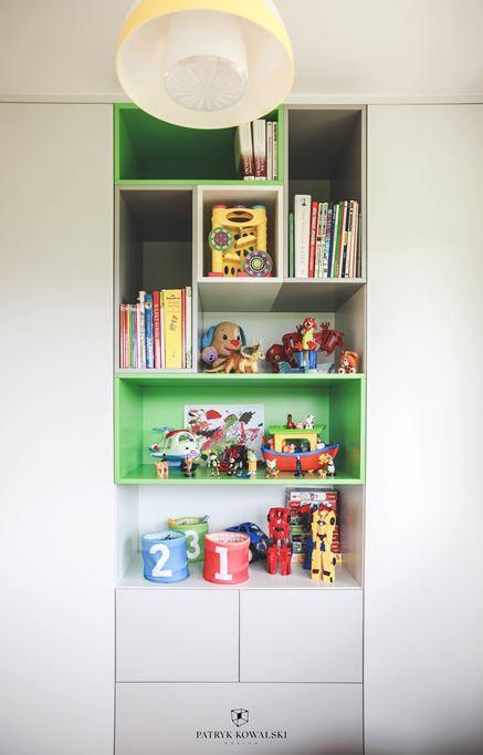 Pomysł na zabudowę w pokoju dziecięcym