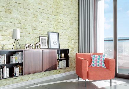 Salon z kamieniem dekoracyjnym Stone Master Vini