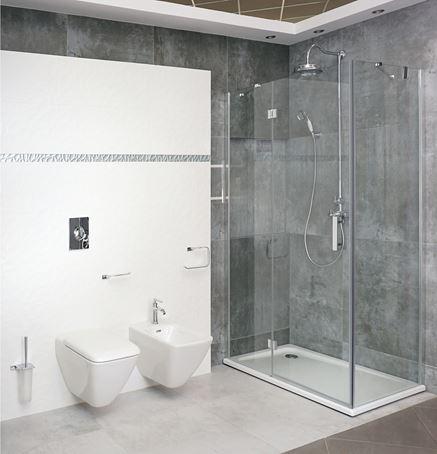 Łazienka z kabiną prysznicową Omnires Manhattan