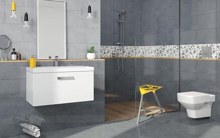 Aranżacja łazienki w kolekcji - Cersanit Adelle