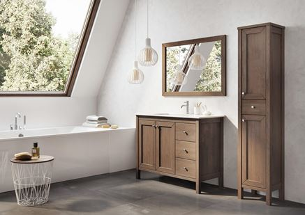 Elita Santos Oak - aranżacja łazienki
