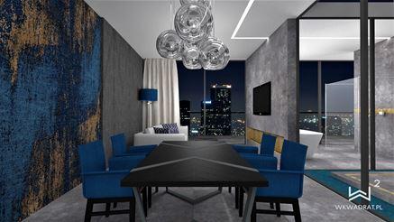 Aranżacja apartamentu - Jadalnia