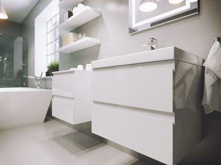 Nowoczesne szafki umywalkowe
