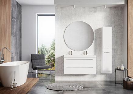 Białe meble - Kwadro Plus