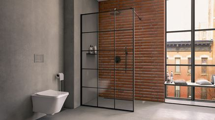 Kabina walk-in New Trendy New Modus Black
