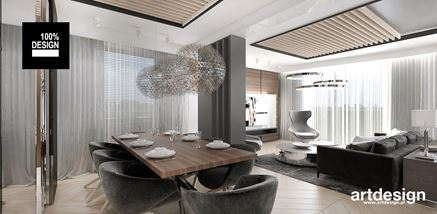 Aranżacja jadalni - biuro projektowe Artdesign
