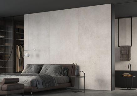 Industrialna sypialnia w wielkoformatowej płycie