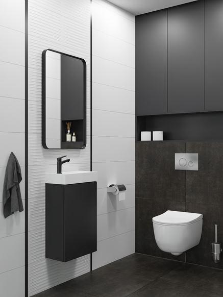 Czarno-biała toaleta Vijo Kerston