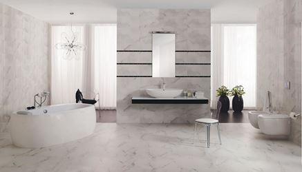 Marmurowa łazienka glamour