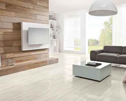 Salon ze ścianą telewizyjną