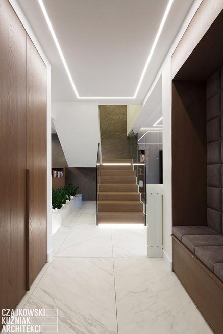 Strefa wejściowa w nowoczesnym domu