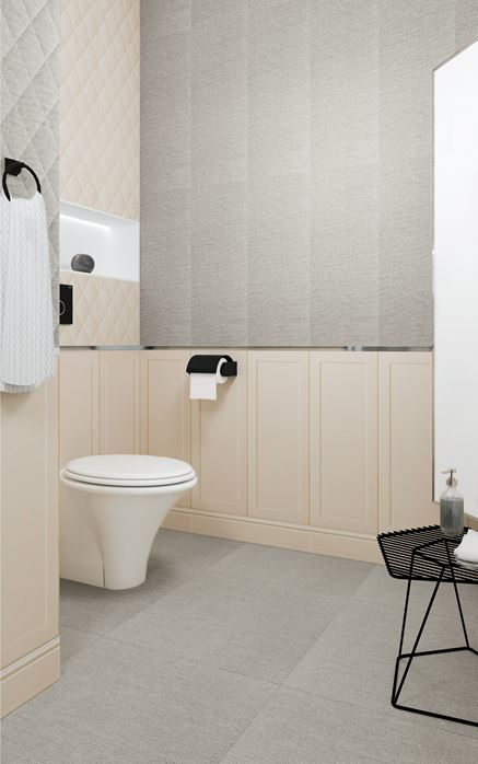 Chenille - łazienka glamour