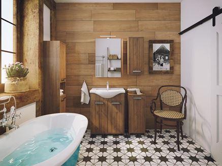 Łazienka w drewnie Defra Amalfi