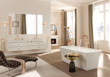 Salon kąpielowy glamour Grohe Grandera