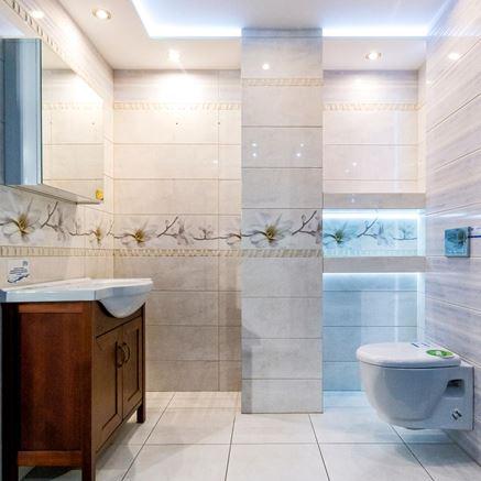 Przykładowa aranżacja łazienki w klasycznej odsłonie