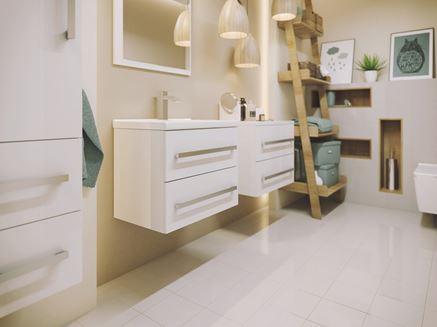 Aranżacja łazienki z Defra Granada
