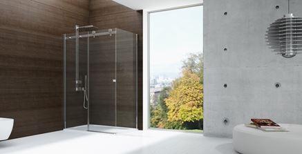 Aranżacja minimalistycznej łazienki New Trendy Diora