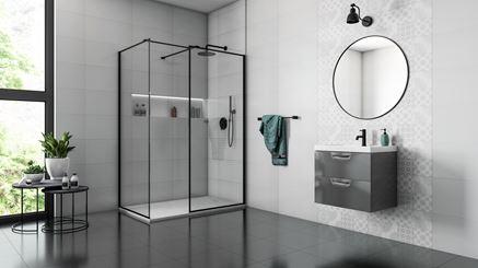 Aranżacja nowoczesnej łazienki z płytkami dekoracyjnymi