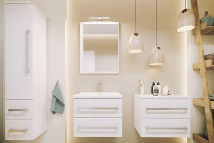 Wybieramy meble do małej łazienki