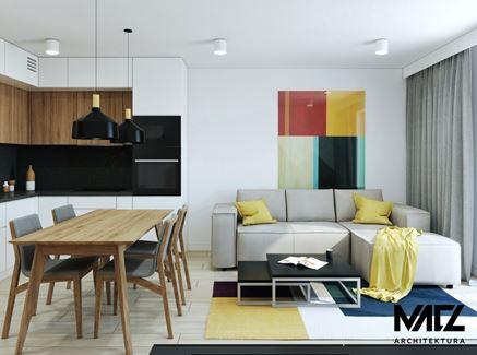 Projekt salonu - MACZ Architektura