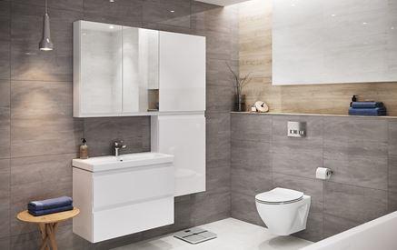 Aranżacja łazienki Cersanit Moduo