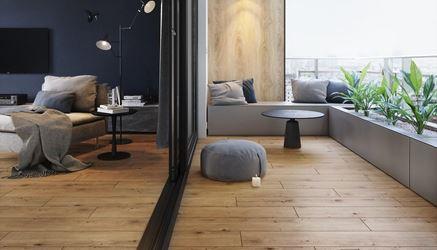 Urok drewnianego tarasu w kolekcji Opoczno Grand Wood Rustic