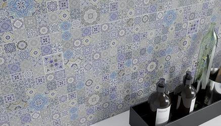 Detal patchworkowej płytki