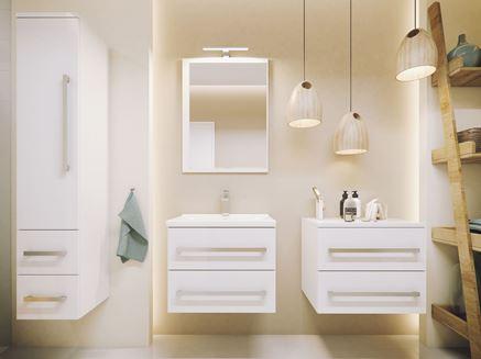 Nowoczesne szafki łazienkowe Defra Granada