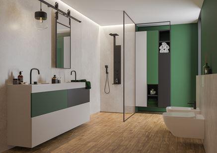 Cerrad Giornata Sabbia - łazienka