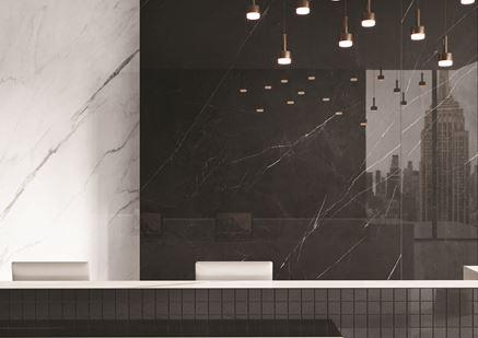 Marmur w dużym formacie black&white