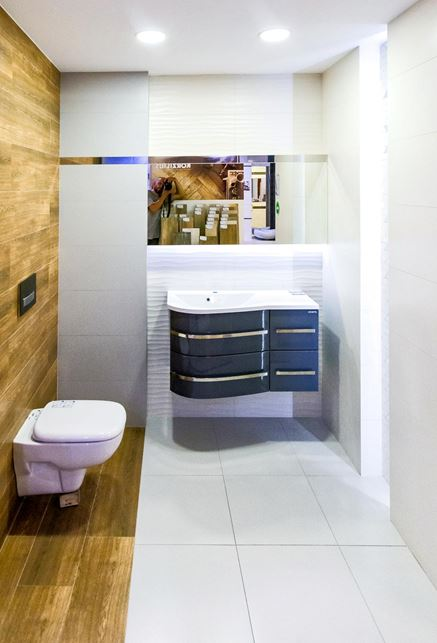 Aranżacja Tubądzin Perlato - BLU salon łazienek Siedlce