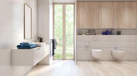 Delikatna łazienka - Blancos od Azario