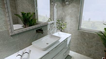 Białe meble łazienkowe - Elita Lofty