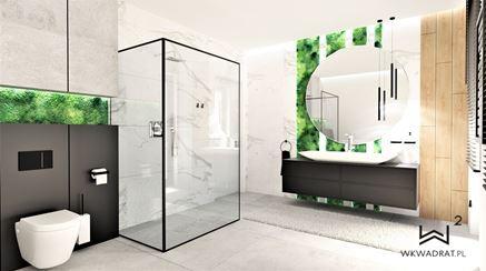 Projekt łazienki - Chrobotek