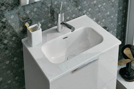 Szafka z umywalką Elita Street Plus White