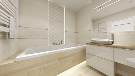 Tubądzin Veridiana - łazienka w bloku