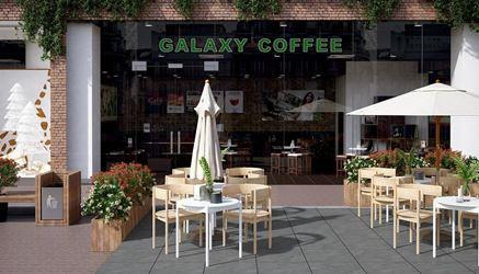 Aranżacja ogródka kawiarnianego