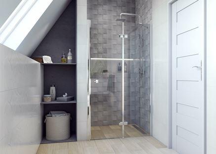 Paradyż Natura - projekt łazienki
