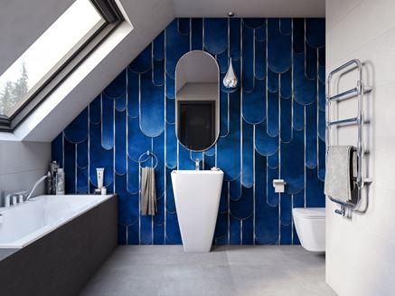 Aranżacja nowoczesnej łazienki pod skosami