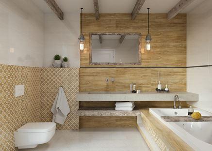 Paradyż Miracle - łazienka naturalnie piękna