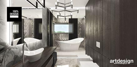 Łazienka w eleganckim połysku