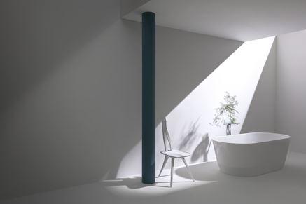 Minimalistyczna łazienka z wanną wolnostojącą