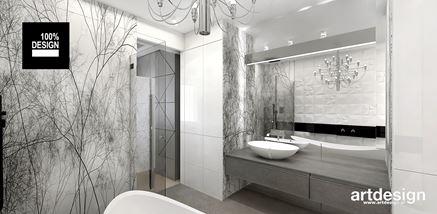 Łazienka z wyjątkową dekoracją