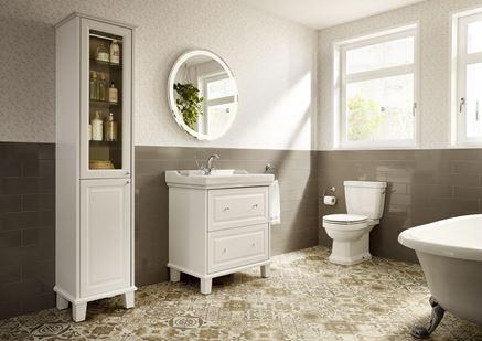 Aranżacja łazienki w kolekcji Roca Carmen