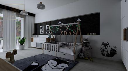 Pokój dla dziecka z motywami zwierzątek